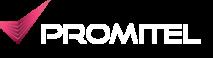 Logo Promitel_białe