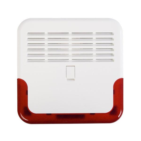 1 Sygnalizator zewnętrzny akustyczno optyczny zgodny z EN 50131 GRADE 2 SD 6000 R