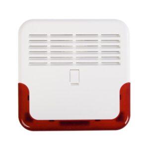 1 Sygnalizator zewnętrzny akustyczno optyczny zgodny z EN 50131 GRADE 2 SP 6500 R
