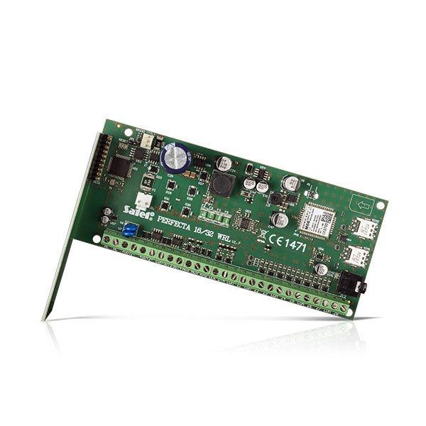 Centrala alarmowa z komunikatorem GSM GPRS obsługą urządzeń bezprzewodowych 433 MHz PERFECTA 32 WRL