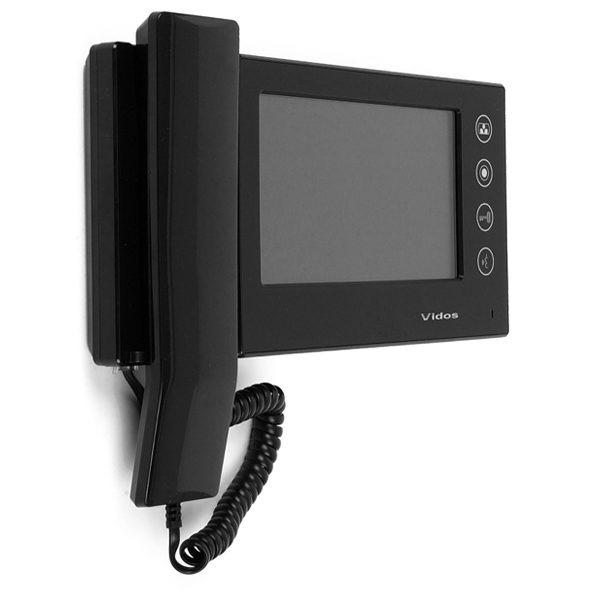 M270B Głośnomówiący słuchawkowy monitor wideodomofonu 04