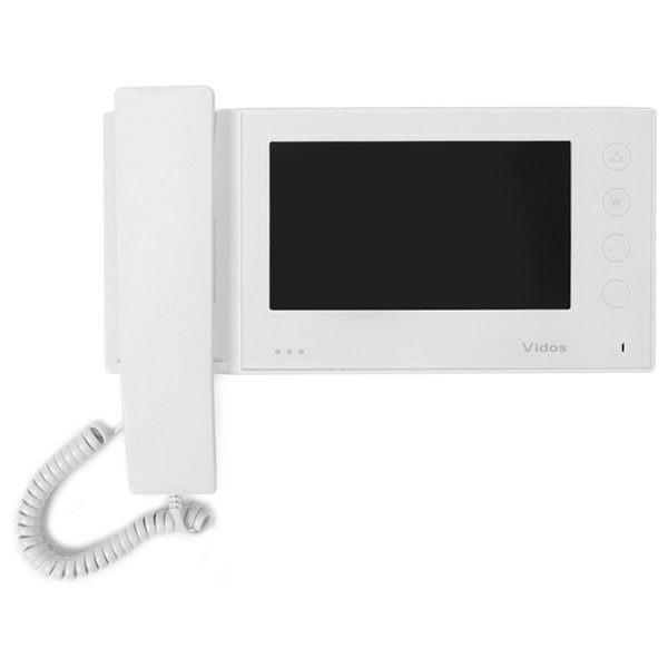 M270W S2 Głośnomówiący słuchawkowy monitor wideodomofonu 01