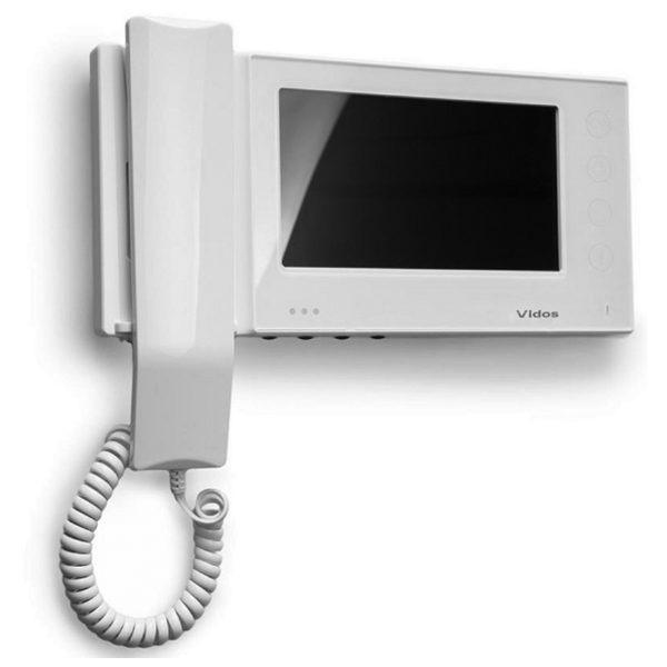 M270W S2 Głośnomówiący słuchawkowy monitor wideodomofonu 03