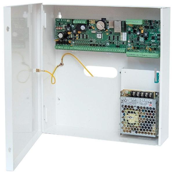 MC16 PAC 2 KIT Zestaw kontroli dostępu na 2 przejścia metalowa obudowa