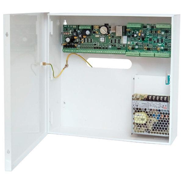 MC16 PAC 4 KIT Zestaw kontroli dostępu dla 4 przejść metalowa obudowa