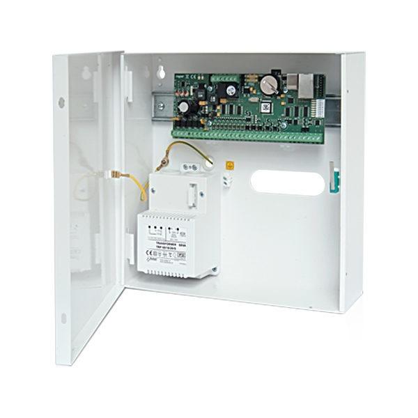 MC16 RAW KIT Zestaw kontroli dostępu metalowa obudowa ME14 40VA moduł elektroniczny kontrolera dostępu MC16 RAW 5