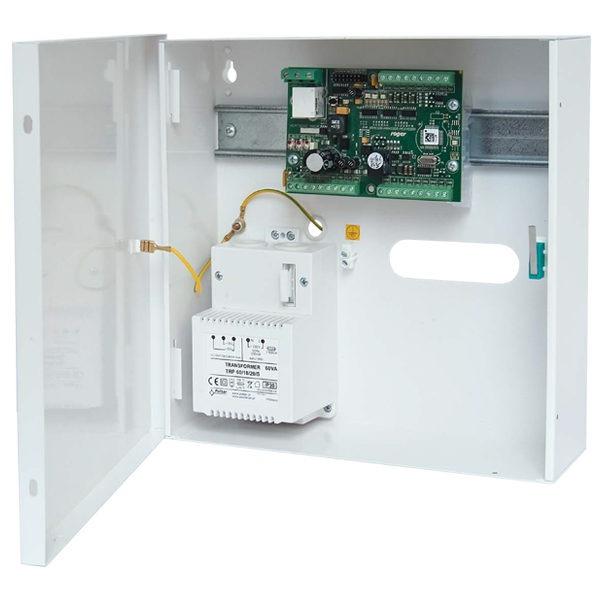 MCX402 1 KIT Zestaw ekspandera dostępu na 1 przejście metalowa obudowa ME14 40VA ekspander we wy MCX402DR BRD