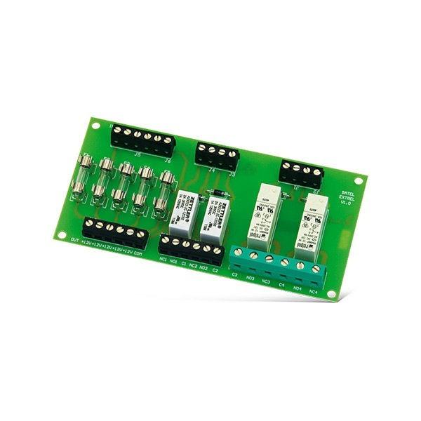 Moduł przekaźników wyjściowych zastosowanie CA 5 CA 6 CA 10 CA 64 INTEGRA GSM 4 ETHM 2 VERSA MP 1