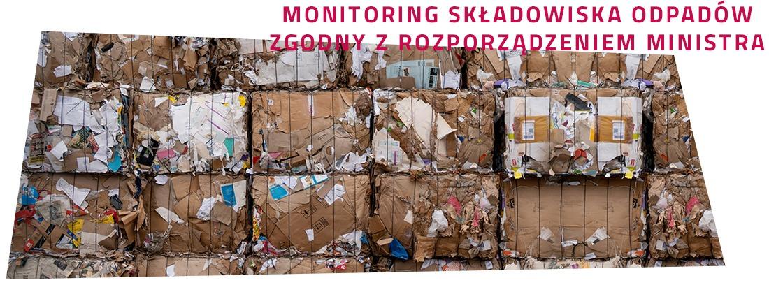 Monitoring skladowiska odpadow