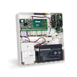 Obudowa uniwersalna z polistyrenu tworzywo z uniepalniaczem natynkowa z miejscem na transformator i akumulator 7Ah OPU 4 P