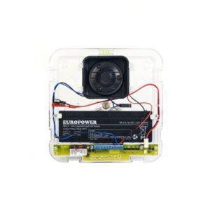 PROMITEL 2 Sygnalizator zewnętrzny akustyczno optyczny zgodny z EN 50131 GRADE 2 SD 6000 R