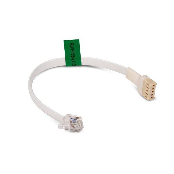 Przejściówka ze standardu RJ na standard PIN 5 dla portu RS 232 RJ PIN5 LCD