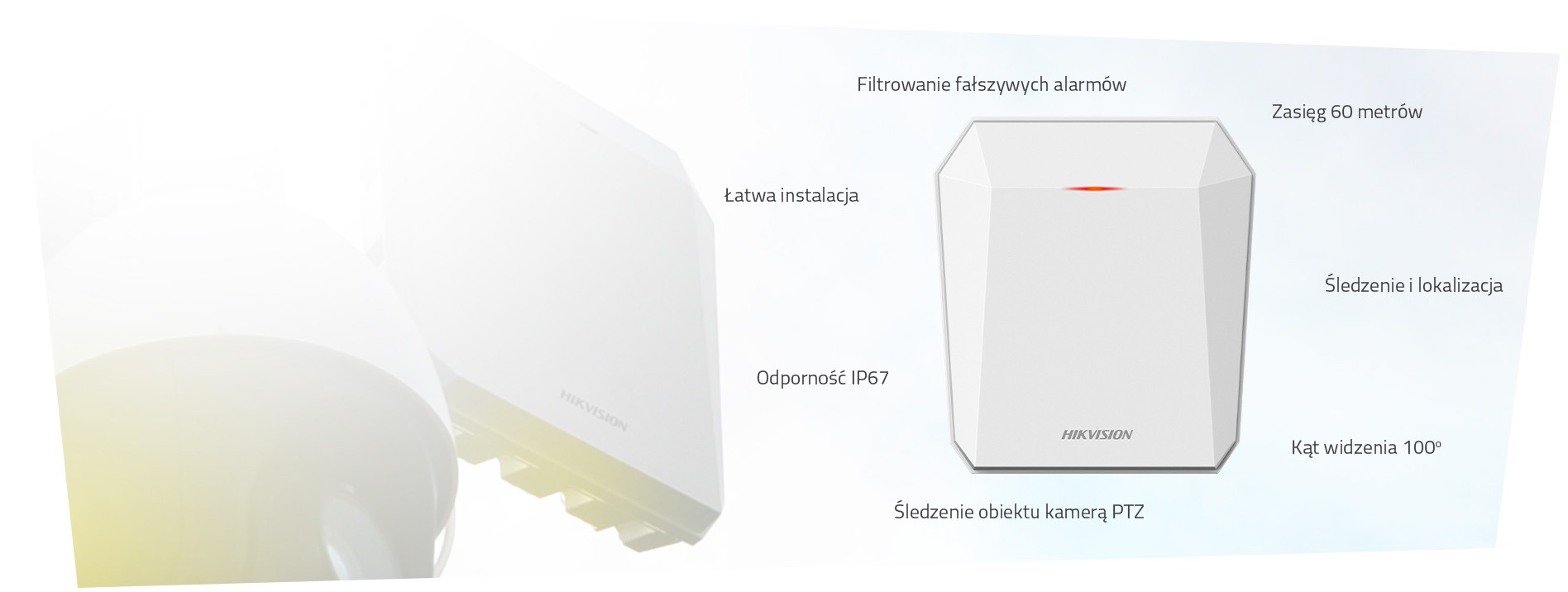 Radar Hikvision DS-PR1-60