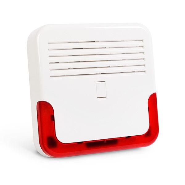 Sygnalizator zewnętrzny akustyczno optyczny zgodny z EN 50131 GRADE 2 SD 6000 R