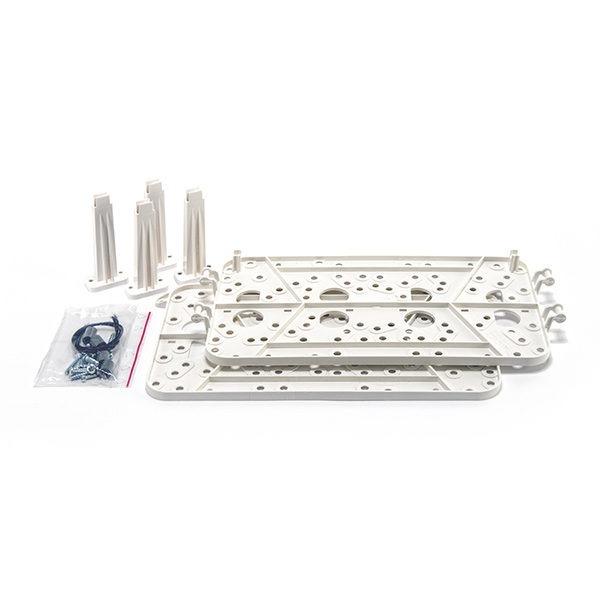 Wkładki plastikowe do obudowy OMI 5 umożliwiające montaż central alarmowych i innych modułów produkcji SATEL OMI 5 PI