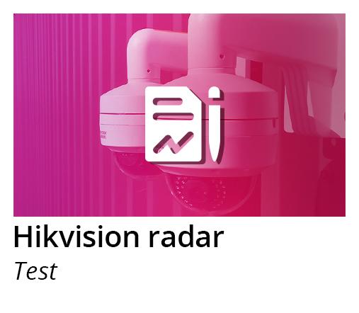 hikvision radar