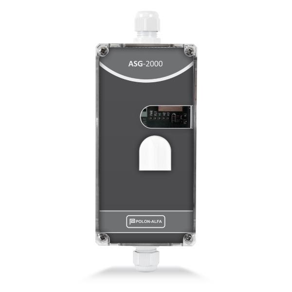 Autonomiczny detektor gazu ziemnego, metanu - CNG Polon-Alfa ASG-2001