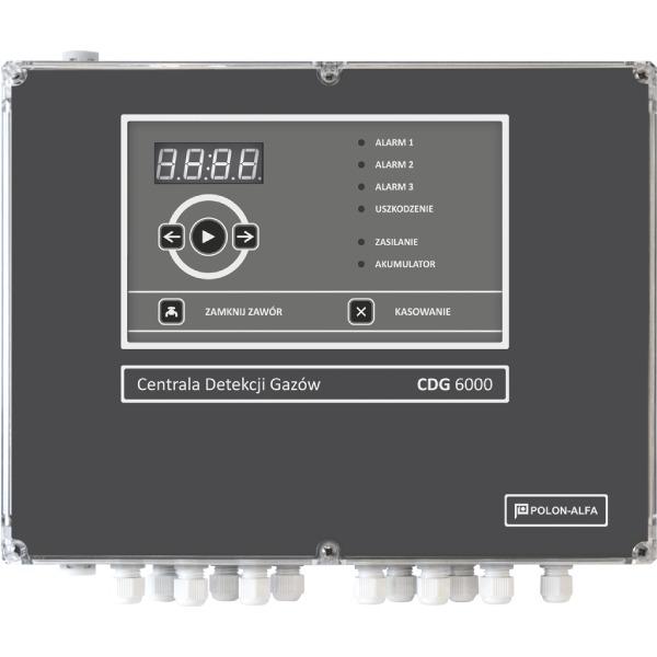 Centrala detekcji gazów (16 kanałowa) Polon-Alfa CDG 6000