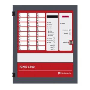 Centrala sygnalizacji pożarowej Polon-Alfa IGNIS 1240