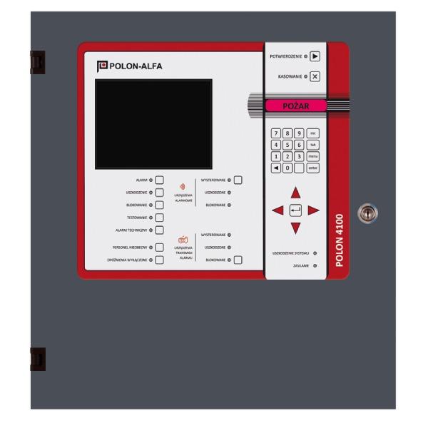 Centrala sygnalizacji pożarowej Polon-Alfa POLON 4100]