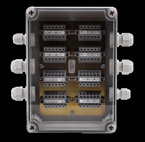 Obudowa dla czterach modułów EKS-4001 Polon-Alfa 4 x EKS