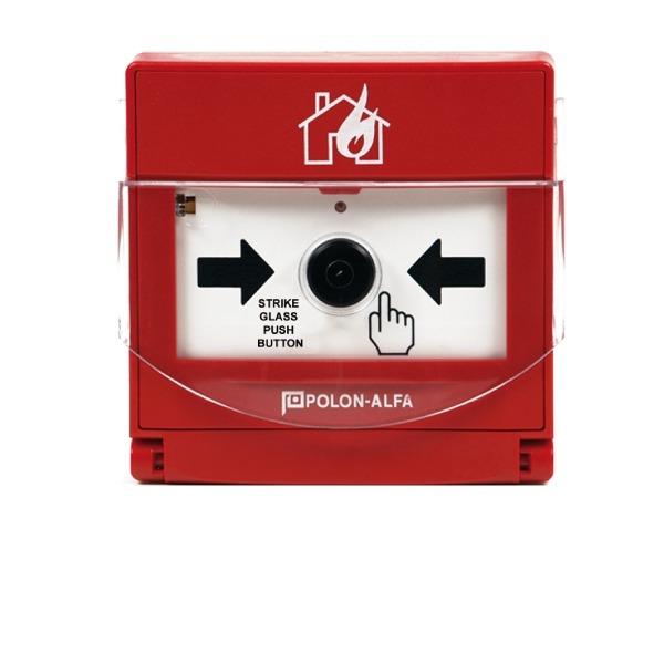 Ręczny ostrzegacz pożarowy Polon Alfa ROP 4001M 1
