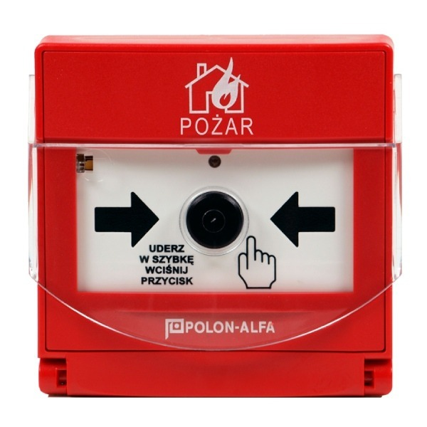 Ręczny ostrzegacz pożarowy Polon-Alfa ROP-4001M