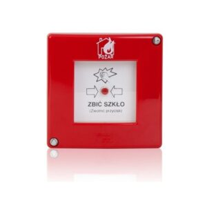 Ręczny ostrzegacz pożarowy konwencjonalny Polon-Alfa ROP-AD