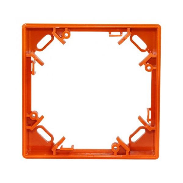 Ramka maskująca, uzupełnienie do wersji natynkowej, pomarańczowa Polon-Alfa RM-60-O