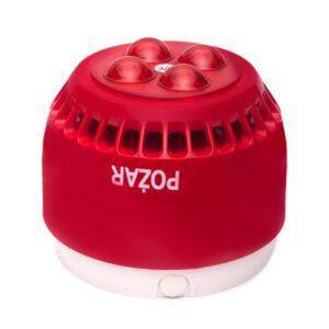Sygnalizator optyczno-akustyczny W-2 SA-K7N/3m