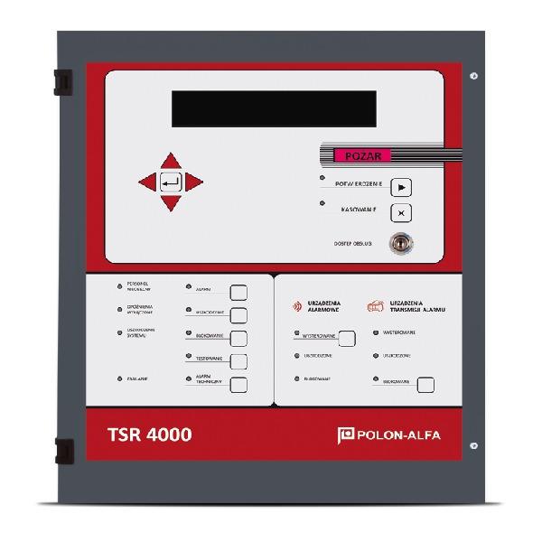 Terminal sygnalizacji równoległej wersja światłowodowa przelotowa Polon-Alfa TSR-4000 SP