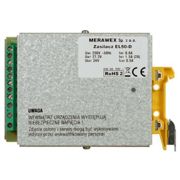 Zasilacz impulsowy MERAWEX EL50-D