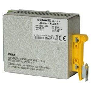 Zasilacz impulsowy MERAWEX EL25-D