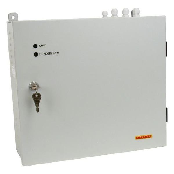Zasilacz impulsowy w szafce wiszącej MERAWEX ZMS-1A-24V12A
