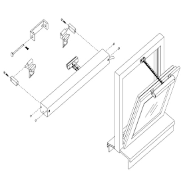 Zestaw konsol skrzydłowych D+H KA-BS040-VSI