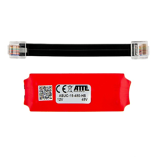 Adapter PoE ATTE ASUC‑15‑480‑HS