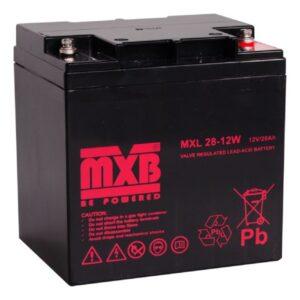 Akumulator MERAWEX MXL 28 Ah/12V
