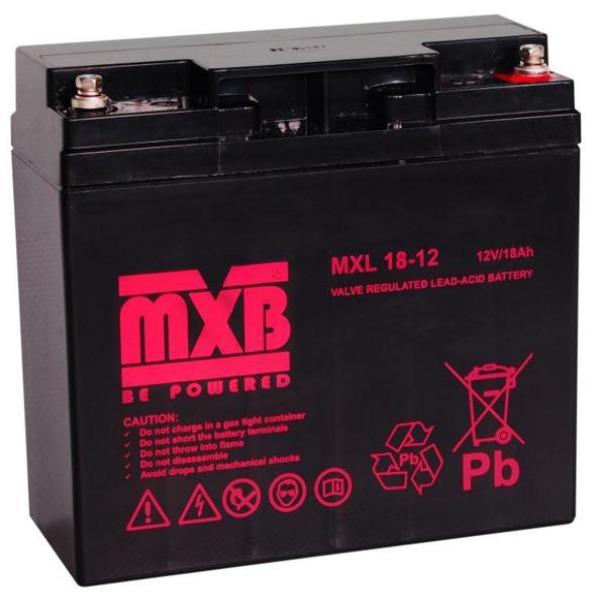 Akumulator MERAWEX MXL MXL 18Ah/12V