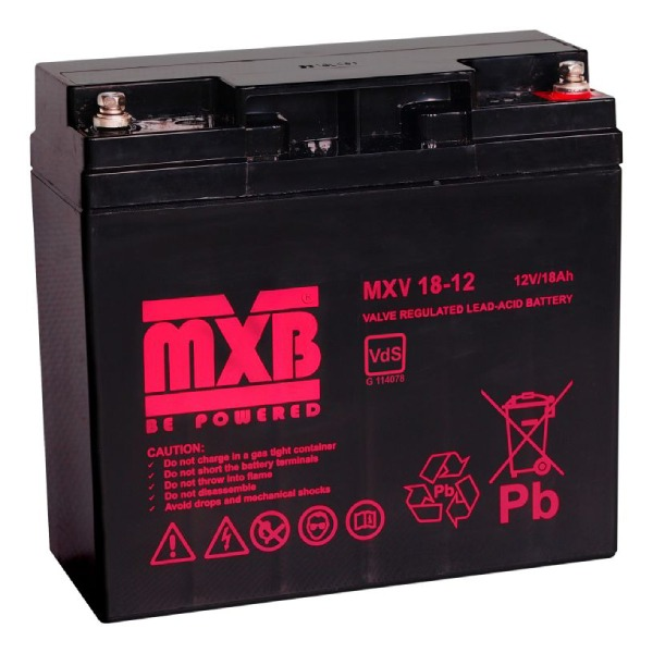 Akumulator MERAWEX MXV 18Ah/12V
