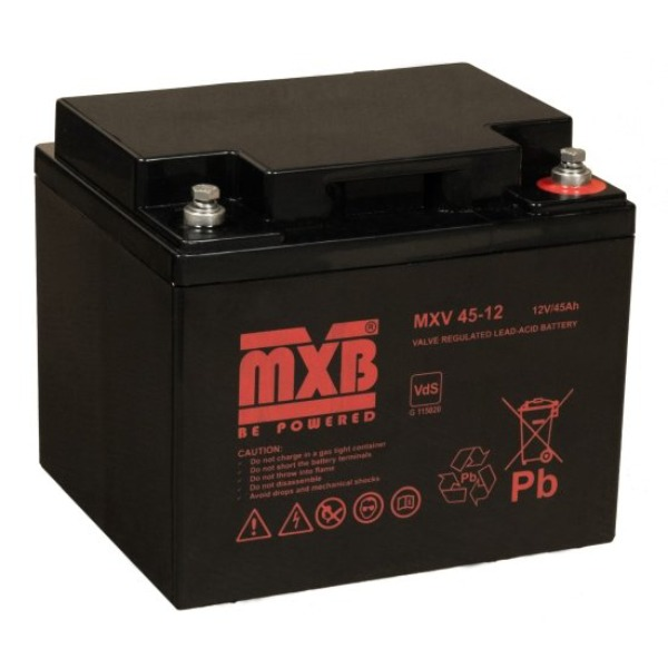 Akumulator MERAWEX MXV 45 Ah/12V