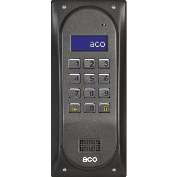 Domofon cyfrowy z zamkiem szyfrowym i czytnikiem zbliżeniowym ACO CDNP6ACC BR