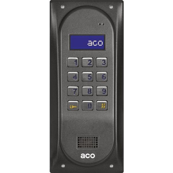 Domofon cyfrowy z zamkiem szyfrowym ACO CDNP5S BR