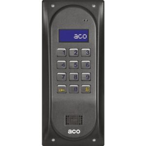 Domofon cyfrowy z zamkiem szyfrowym ACO CDNP6 BR