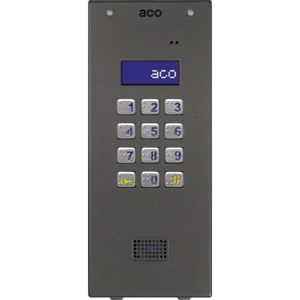 Domofon cyfrowy z zamkiem szyfrowym i czytnikiem zbliżeniowym ACO CDNP6ACC ST