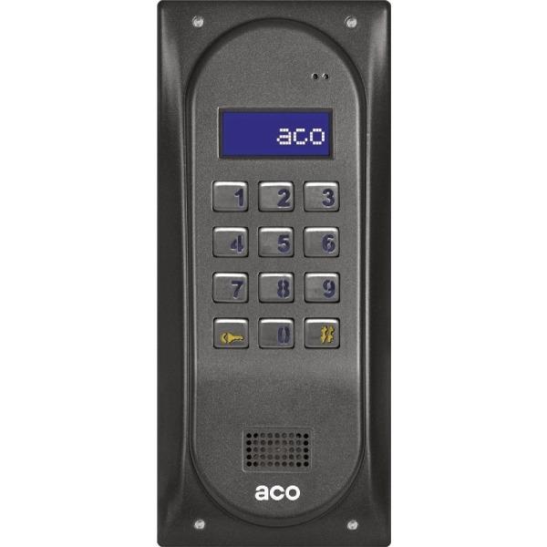 Domofon cyfrowy z zamkiem szyfrowym i czytnikiem zbliżeniowym ACO CDNP6ACCS BR