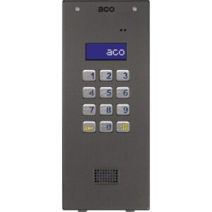 Domofon cyfrowy z zamkiem szyfrowym i czytnikiem zbliżeniowym ACO CDNP6ACCS GR