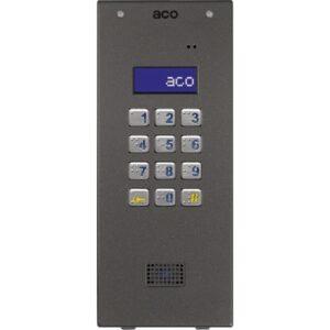 Domofon cyfrowy z zamkiem szyfrowym i czytnikiem zbliżeniowym ACO CDNP7ACC ST