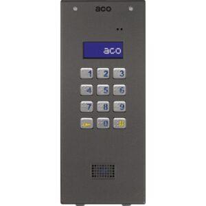 Domofon cyfrowy Slave z zamkiem szyfrowym i czytnikiem zbliżeniowym ACO CDNP7ACCS ST