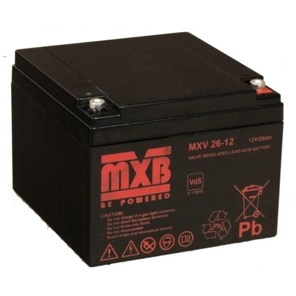 Akumulator MERAWEX MXV 26 Ah/12V