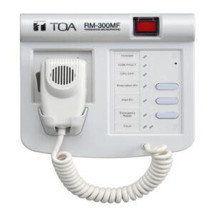 Mikrofon strażaka TOA RM-300MF